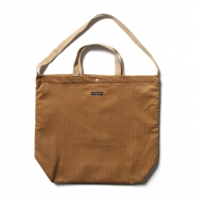 ENGINEERED GARMENTS / エンジニアドガーメンツ | Carry All Tote - 8W Corduroy - Chestnut