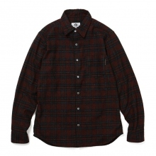 GOODENOUGH / グッドイナフ | INDIGO SHIRT - Burgundy