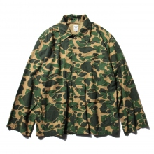 South2 West8 / サウスツーウエストエイト | Hunting Shirt - Printed Flannel / Camouflage - Duck Hunter