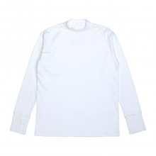 N.HOOLYWOOD / エヌハリウッド | 972-CS01-068 pieces MOCK NECK LONG SLEEVE - White