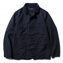ENGINEERED GARMENTS | Coverall Jacket - Cotton Double Cloth - Dk.Navy