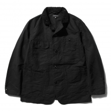 【Point 10% 9/29まで】ENGINEERED GARMENTS | Coverall Jacket - Cotton Double Cloth - Black