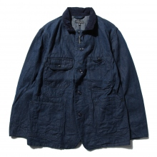 ENGINEERED GARMENTS | Coverall Jacket - 11oz Cone Denim - Indigo
