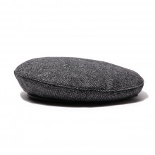 ENGINEERED GARMENTS / エンジニアドガーメンツ | Beret - Wool Homespun - Charcoal