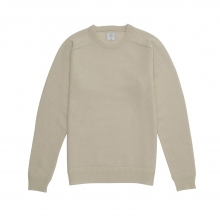 Mr.GENTLEMAN / ミスタージェントルマン | CREW NECK KNIT - White