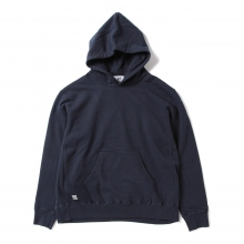 HABANOS / ハバノス | BIG HOODED SWEAT PARKA - Navy