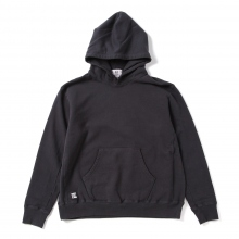 HABANOS / ハバノス | BIG HOODED SWEAT PARKA - Black