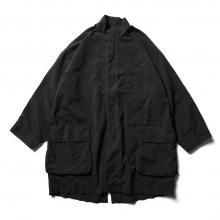 Porter Classic / ポータークラシック | WEATHER MILITARY COAT - Black