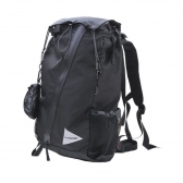 and wander / アンドワンダー | 30L backpack - Black