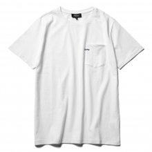 A.P.C. / アーペーセー | T-SHIRT POCKET emb S/S - White