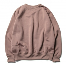 AURALEE / オーラリー | BAGGY POLYESTER SWEAT P/O - Brown