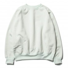 AURALEE / オーラリー | BAGGY POLYESTER SWEAT P/O - Mint Green