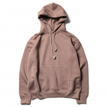 AURALEE / オーラリー | BAGGY POLYESTER SWEAT P/O PARKA - Brown