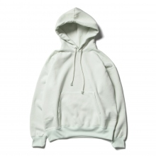 AURALEE / オーラリー | BAGGY POLYESTER SWEAT P/O PARKA - Mint Green