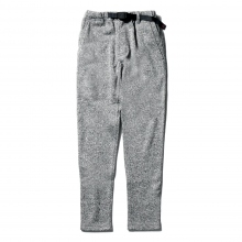 GRAMICCI / グラミチ | BONDING KNIT FLEECE SLIM PANTS - Grey × Navy