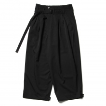 ESSAY / エッセイ | P-3 HAKAMA SLACKS - Black