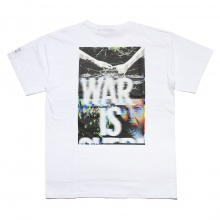 ELVIRA / エルビラ | WAR IS OVER T-SHIRT - White