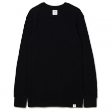 BEDWIN / ベドウィン | L/S C-NECK THERMAL T 「GREEN」 - Black