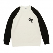 GOODENOUGH / グッドイナフ | RAGLAN CREW SHIRT - White / Black