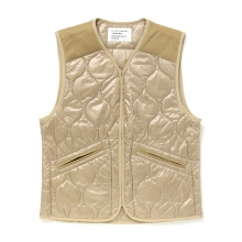 ....... RESEARCH | Quilted Vest - Beige