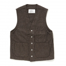 ....... RESEARCH | C.P. Work Vest - Brown