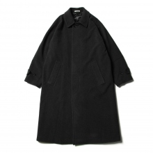 AURALEE / オーラリー | CASHMERE WOOL MOSSER BIG COAT - Top Charcoal
