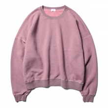 URU / ウル | CREW NECK SWEAT - Pink