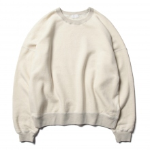 URU / ウル | CREW NECK SWEAT - Ivory