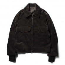 URU / ウル | COTTON CORDUROY BLOUSON - D.Brown