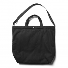 ENGINEERED GARMENTS / エンジニアドガーメンツ | Carry All Tote - Cotton HB Twill - Black