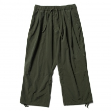 Reft / レフト | ANKLE LENGTH WIDE PANT - Olive