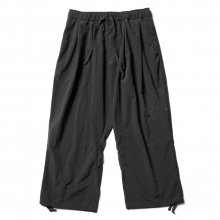 Reft / レフト | ANKLE LENGTH WIDE PANT - Black