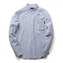 HABANOS / ハバノス|MILITARY POCKET SHIRTS - Navy