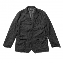 ENGINEERED GARMENTS | Baker Jacket - Wool Homespun - Charcoal