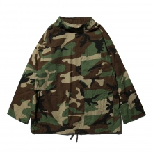 ENGINEERED GARMENTS | EG Workaday Smock Popover - Ripstop - Woodland Camo