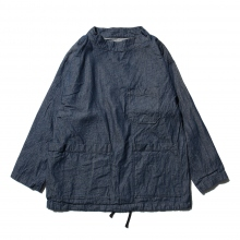 ENGINEERED GARMENTS | EG Workaday Smock Popover - 8oz Denim - Indigo
