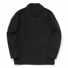 Porter Classic / ポータークラシック | LOCAL BLACK PULLOVER SHIRT - Black ☆