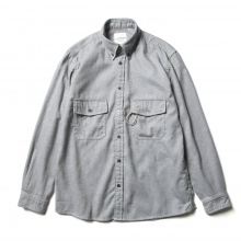 and wander / アンドワンダー | thermonel shirt (M) - Gray