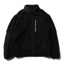 FIRST DOWN / ファーストダウン | FIRST DOWN BOA JACKET - Black