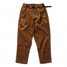 GRAMICCI / グラミチ | CORDUROY TUCK TAPERED PANTS - Camel