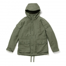 ENGINEERED GARMENTS / エンジニアドガーメンツ | Field Parka - Cotton Double Cloth - Olive