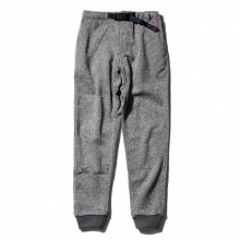 GRAMICCI / グラミチ | BONDING KNIT FLEECE NARROW RIB PANTS - Grey × Navy