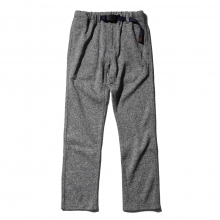 GRAMICCI / グラミチ | BONDING KNIT FLEECE NN-PANTS JUST CUT - Grey × Navy