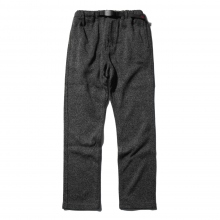 GRAMICCI / グラミチ | BONDING KNIT FLEECE NN-PANTS JUST CUT - Charcoal × Black