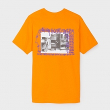 STUSSY / ステューシー | Sounds System Tee - Apricot