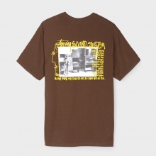 STUSSY / ステューシー | Sounds System Tee - Chocolate
