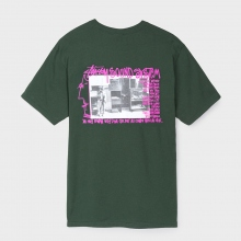 STUSSY / ステューシー | Sounds System Tee - Dark Forest