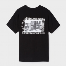 STUSSY / ステューシー | Sounds System Tee - Black