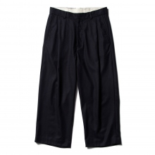 URU / ウル | WOOL 1 TUCK PANTS - D.Navy