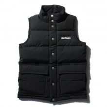 WILDTHINGS / ワイルドシングス | DOWN VEST - Black